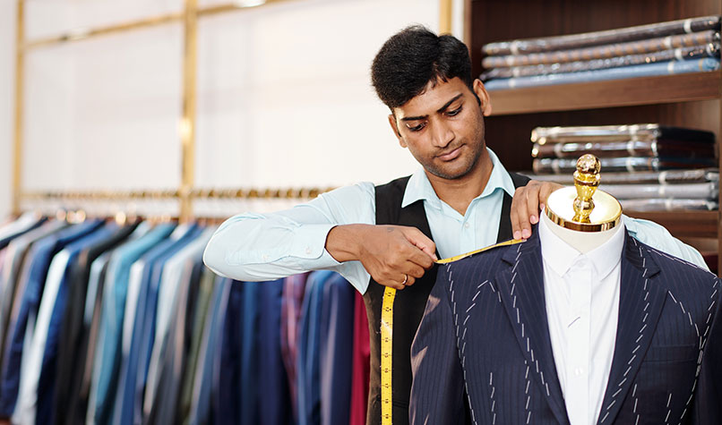 Self-employed tailor