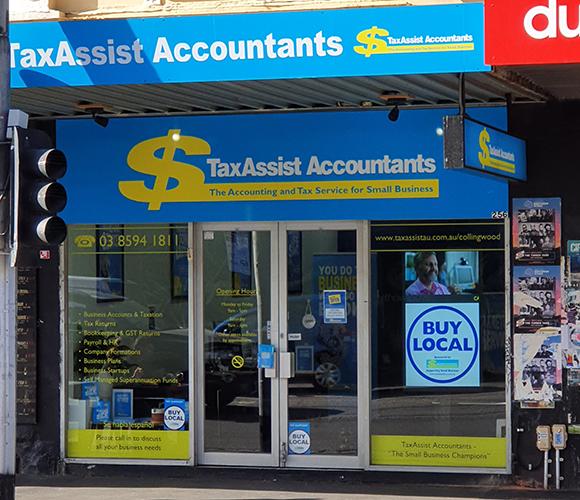 Taxassist shop front