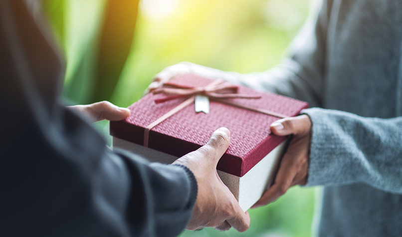 Are gifts tax deductible?
