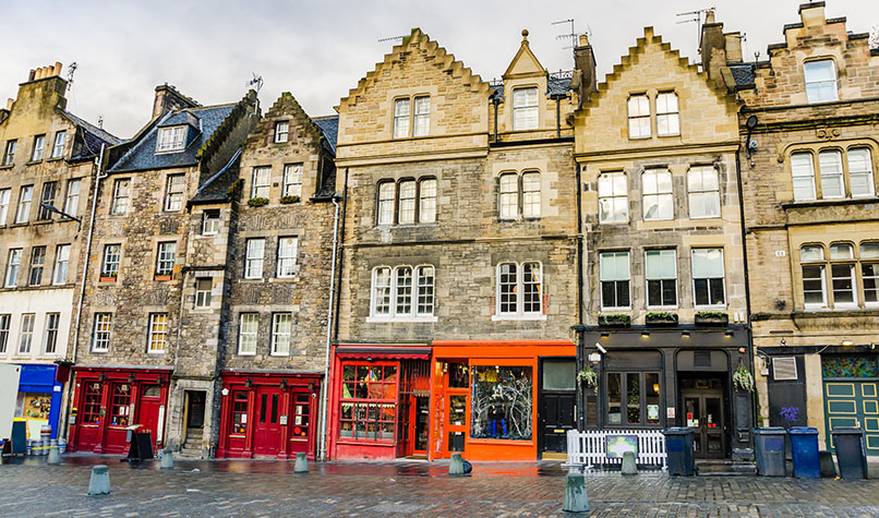 Scotland shops